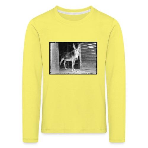 Zickenstube Esel - Kinder Premium Langarmshirt
