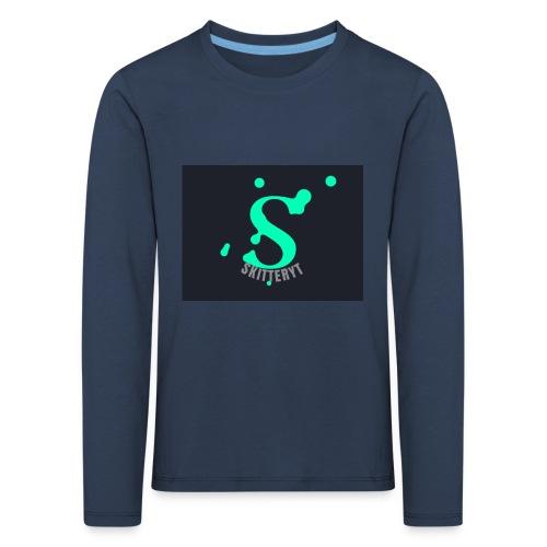 skitterYT - Långärmad premium-T-shirt barn