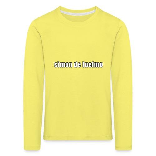 simon - Långärmad premium-T-shirt barn