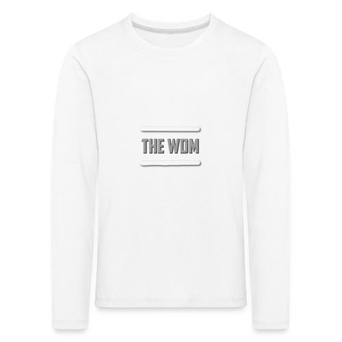 design for store foer spreadshirts se - Långärmad premium-T-shirt barn