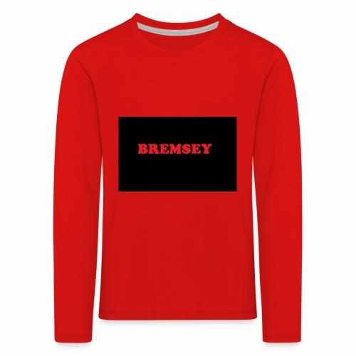 bremsey - Långärmad premium-T-shirt barn