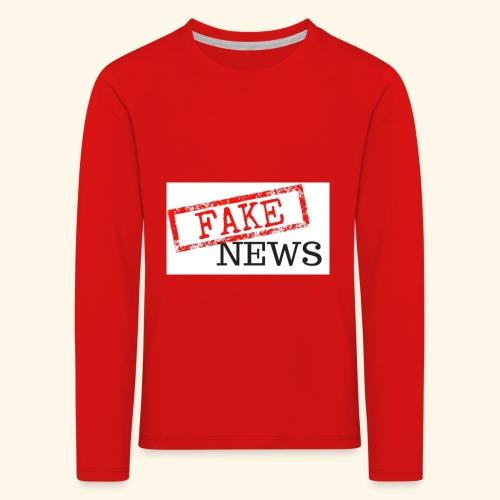 fake news - Kids' Premium Longsleeve Shirt