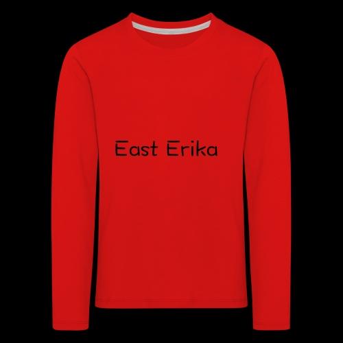 East Erika logo - Maglietta Premium a manica lunga per bambini