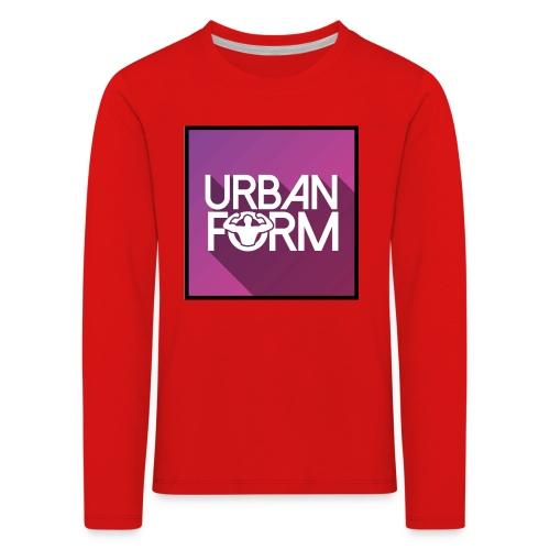 Logo URBAN FORM - T-shirt manches longues Premium Enfant