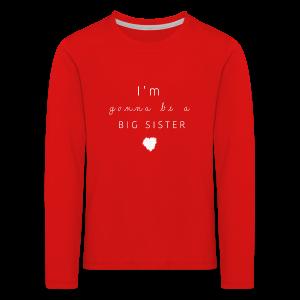 BIGSISTER Collection - Premium langermet T-skjorte for barn