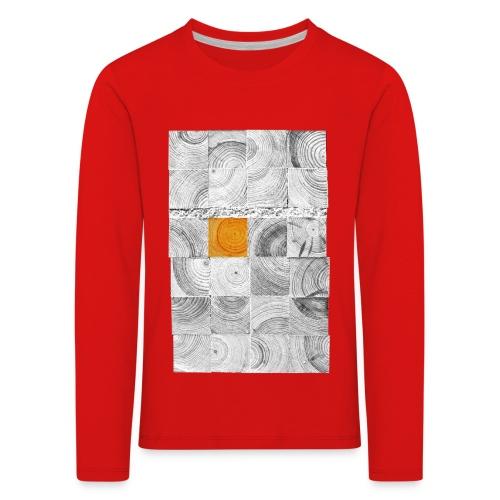 Cubes de Bois - T-shirt manches longues Premium Enfant