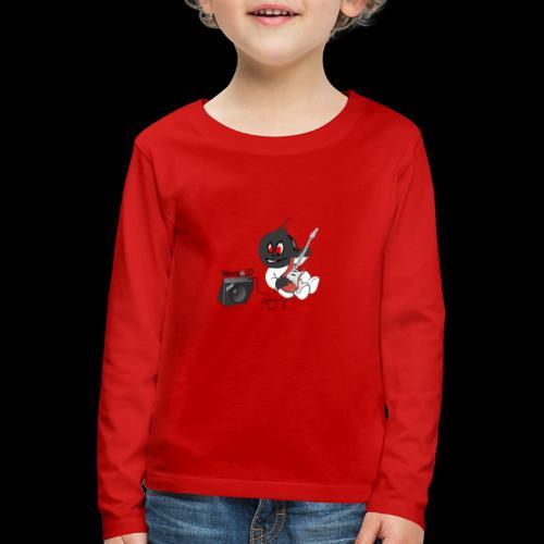 logo guitar - T-shirt manches longues Premium Enfant