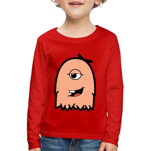 Furly Orange - Kinder Premium Langarmshirt