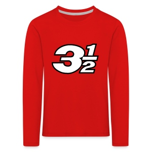 Three and a Half Logo - Kids' Premium Longsleeve Shirt