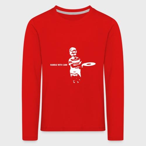 T-Record - Handle with care - Kinderen Premium shirt met lange mouwen