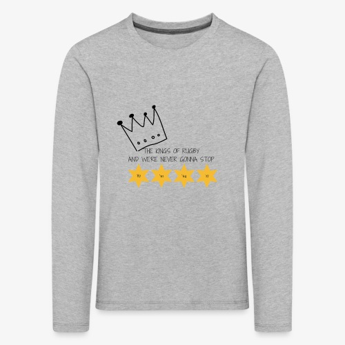 The Kings of Rugby (Kids) - Kids' Premium Longsleeve Shirt