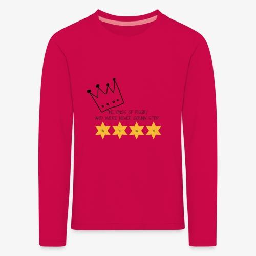 The Kings of Rugby (Kids) - Kids' Premium Longsleeve Shirt