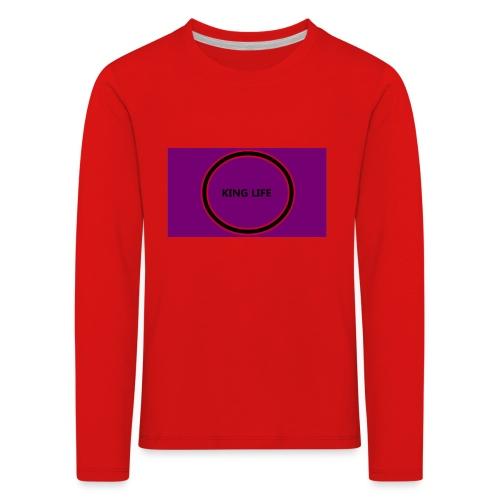 king life - Lasten premium pitkähihainen t-paita