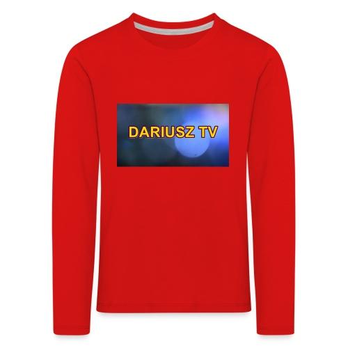 DARIUSZ TV - Koszulka dziecięca Premium z długim rękawem