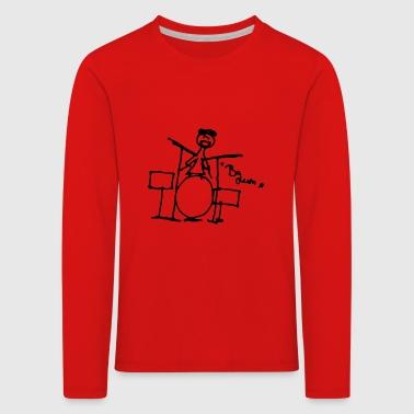 Batteur - BA dum - - T-shirt manches longues Premium Enfant