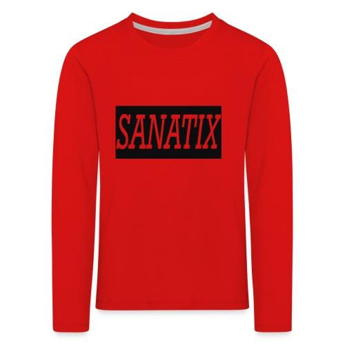 SanatixShirtLogo - Kids' Premium Longsleeve Shirt