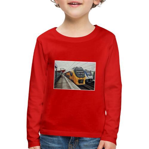 Intercity en Sprinter in Almere Parkwijk - Kinderen Premium shirt met lange mouwen