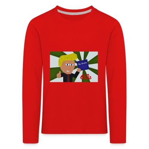 1960-luku - Lasten premium pitkähihainen t-paita
