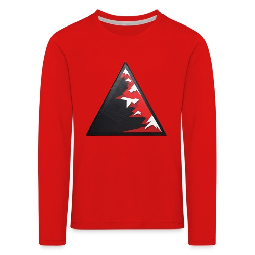 Climb high as a mountains to achieve high - Kids' Premium Longsleeve Shirt