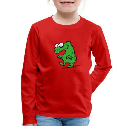 Happy Dyno - Kinder Premium Langarmshirt