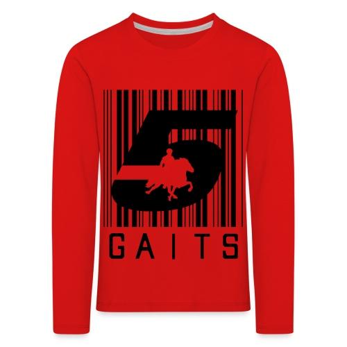 5gaitsBarcode 1 - Kids' Premium Longsleeve Shirt