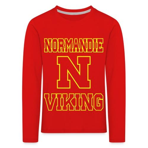 Normandie Viking Def jaune - T-shirt manches longues Premium Enfant