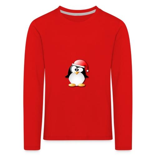Mr Penguin - Kids' Premium Longsleeve Shirt