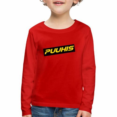 Puuhis verkkokauppa - Lasten premium pitkähihainen t-paita