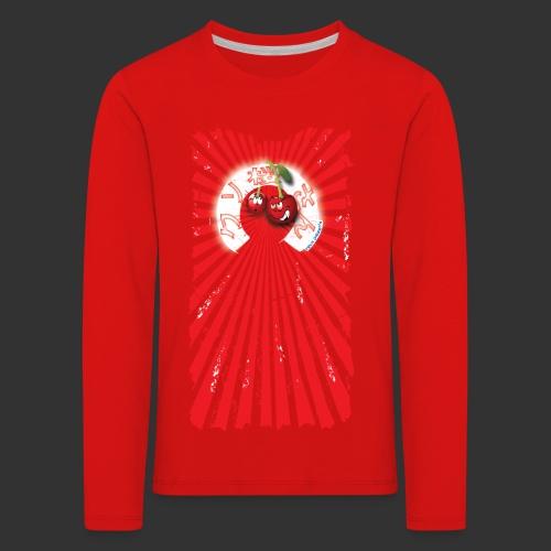 frkn cherry - Kinderen Premium shirt met lange mouwen