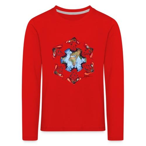 Égoïsme de l'être humain - T-shirt manches longues Premium Enfant
