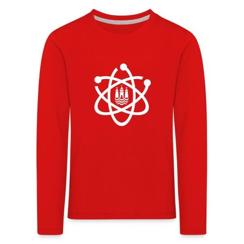 March for Science København logo - Kids' Premium Longsleeve Shirt