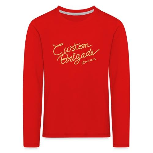 handscript - T-shirt manches longues Premium Enfant