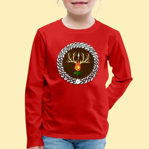 Médaillon de Neved - T-shirt manches longues Premium Enfant