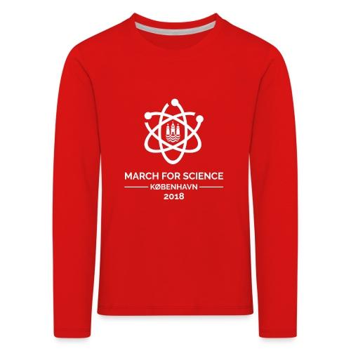 March for Science København 2018 - Kids' Premium Longsleeve Shirt