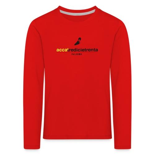 Logo Young Red Line - Maglietta Premium a manica lunga per bambini