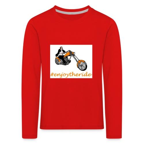 enjoytheride - T-shirt manches longues Premium Enfant