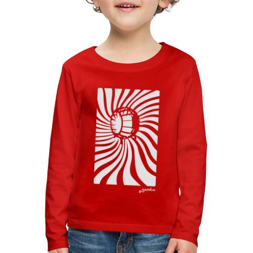wirbel - Kinder Premium Langarmshirt