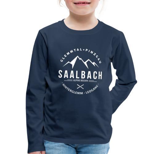 Saalbach Mountain Classic - Kinderen Premium shirt met lange mouwen