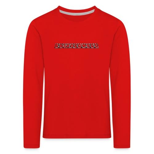 museplade - Børne premium T-shirt med lange ærmer