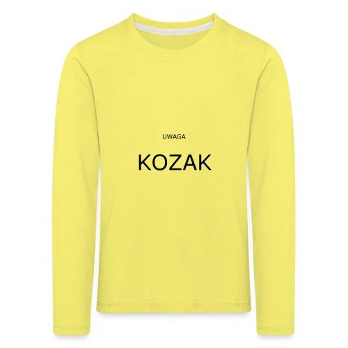KOZAK - Koszulka dziecięca Premium z długim rękawem