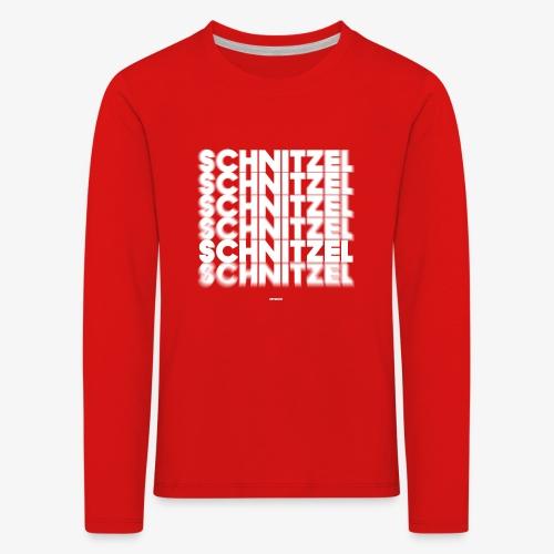 SCHNITZEL #02 - Kinder Premium Langarmshirt