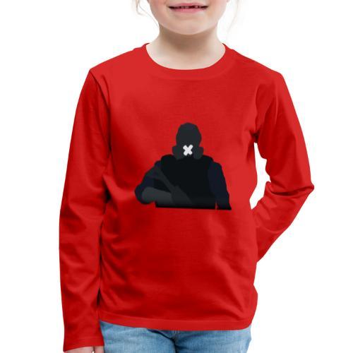 Mute - Koszulka dziecięca Premium z długim rękawem