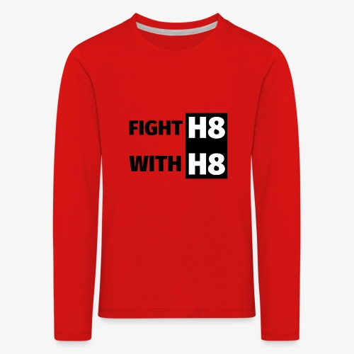 FIGHTH8 dark - Kids' Premium Longsleeve Shirt