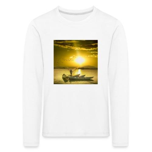 Tramonto - Maglietta Premium a manica lunga per bambini