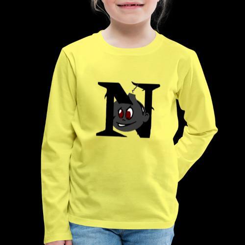 tete seul N - T-shirt manches longues Premium Enfant