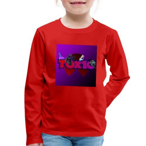 toxic paita - Lasten premium pitkähihainen t-paita