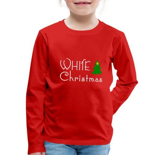 White Christmas - Kids' Premium Longsleeve Shirt