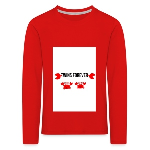 parry and barry twins forever - Kids' Premium Longsleeve Shirt