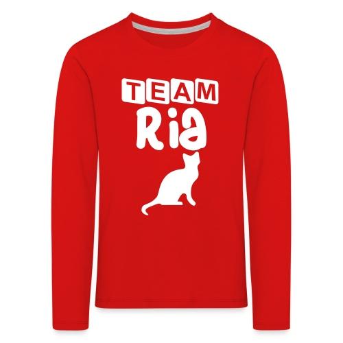 Team Ria - Kids' Premium Longsleeve Shirt