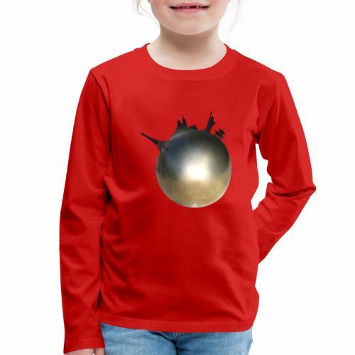Boule de Pétanque Mondial - T-shirt manches longues Premium Enfant